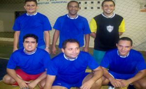 Equipe de futsal do Banco do Brasil