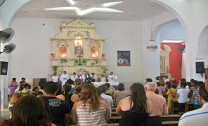 Igreja Matriz hoje pela manha