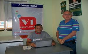 Dr. José Wagner Linhares elogiou o trabalho do portalv1