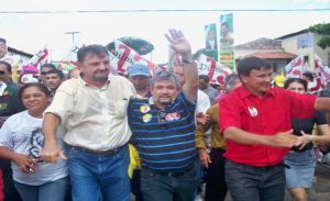Wilson Martins, Rubens Alencar e Wellington Dias