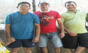 radialistas Welton Ferreira, Erismar Leite e Sérgio Alves