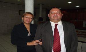 vereadores Ielva Melão (PPS) e Joaquim Filho (PTB)