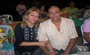 vereadora Ielva Melão e o esposo Stenio Rommel