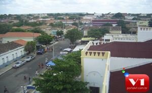 Vista da cidade de Valença do Piaui