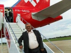 Cruz Castro presidente do Sindicato Estadual dos Agentes Comunitários de Saúde e de Endemias