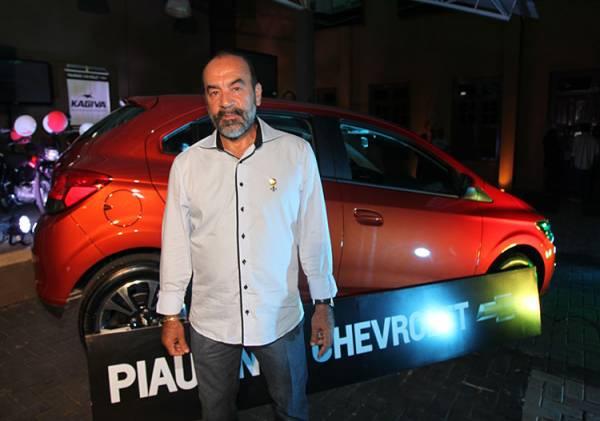 Presidente da Federação de Futebol do Piauí, Cesarino Oliveira,