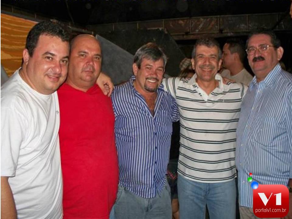 Manoel Filho, Joaquim Filho, Rubens Alencar JVC e o ex-presidente da APPM Macedão