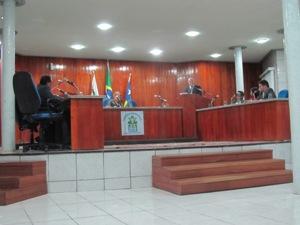 Plenário do Legislativo Municipal (arquivo)
