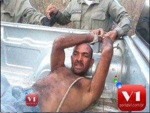 Ele foi preso na localidade Barreiras