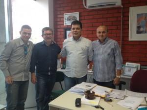 Zé Filho e Geovane Vieira receberam a garantia de investimentos