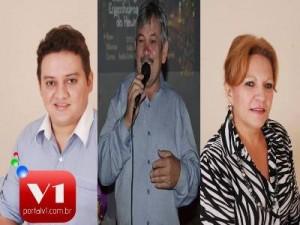Getulio Gomes, Rubens Alencar e Ielva Melão