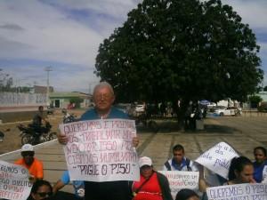 Presidente do sindicato estadual dos agentes comunitários de saúde e de endemias Cruz Castro