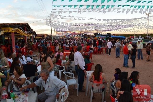 33ª Vaquejada de Pimenteiras, vista do Parque Pantanal