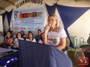 Secretária de saúde Drª Vera Gabriel