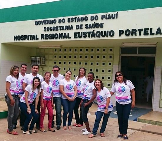 Equipe do Hospital Regional Eustáquio Portela