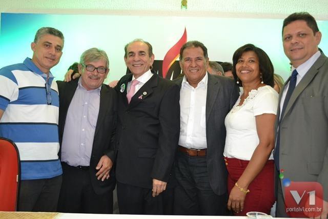 A comitiva participou de solenidades em Valença