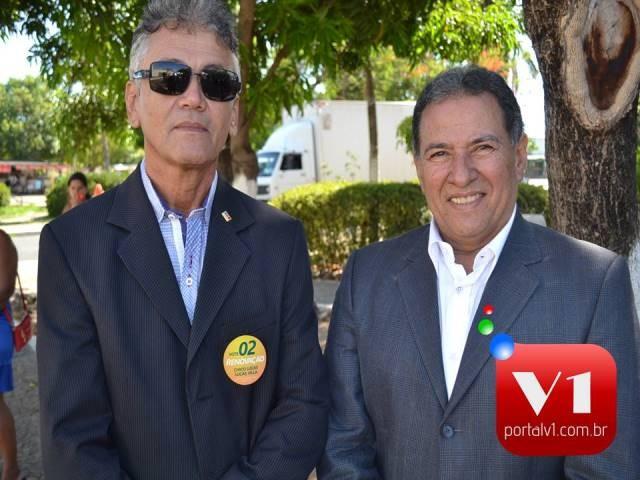 Dr. Renato Satiro e Dr. José Itamar candidatos a presidentes.