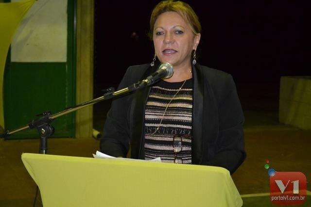 Secretária de saúde, Ielva Melão