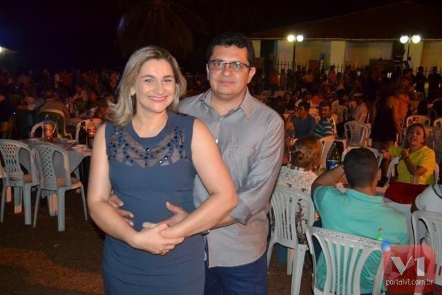Carmelina Castro e Venicio do Ó