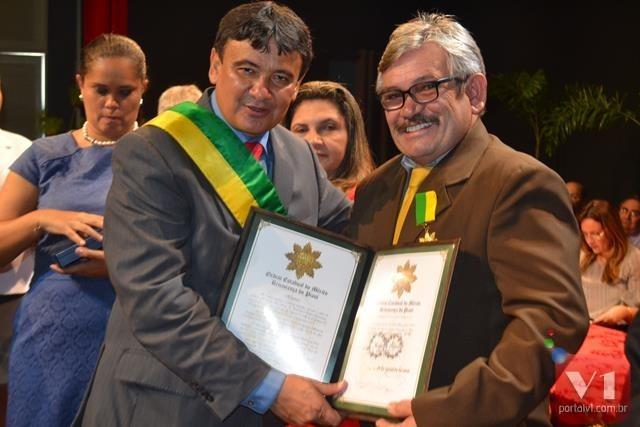 Governador Wellington Dias e Rubens Alencar