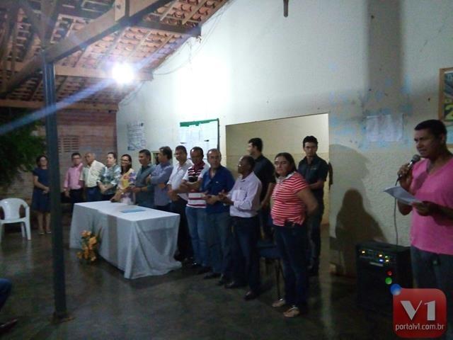 A solenidade foi realizada na prefeitura municipal