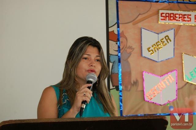 Secretária de educação Maria Onete da Silva Sousa (Netinha)