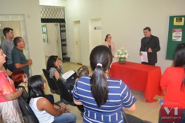 A solenidade foi realizada no Fórum Desembargador Arlindo Nogueira e c
