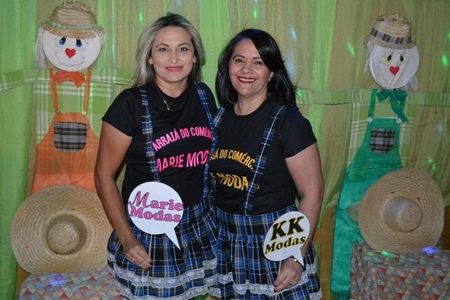 As organizadoras Maria Moura e Iracema Alencar