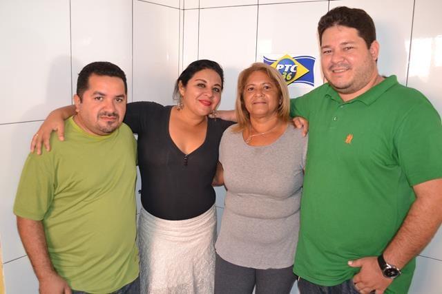Dudu, Fernanda Noronha, Carlene Sousa e Leonardo Nogueira