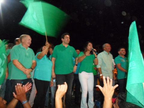 Candidata Ceiça Dias (Foto Gregorio Araújo)