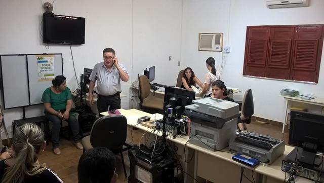 A reunião foi realizada no Cartório Eleitoral
