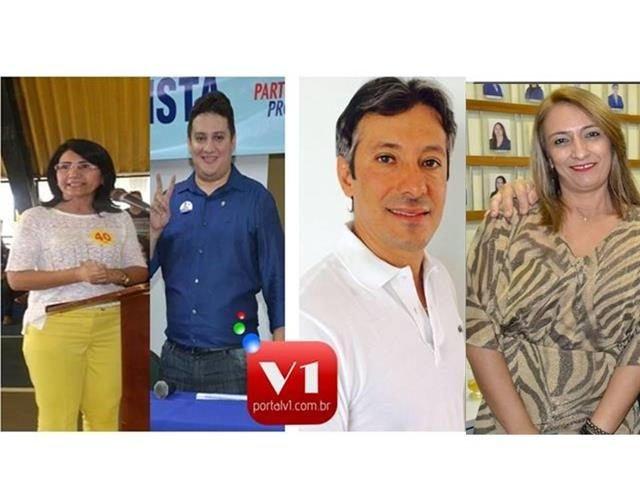 Ceiça Dias, Getulio Gomes, Marcelo Costa e Liduina Alencar