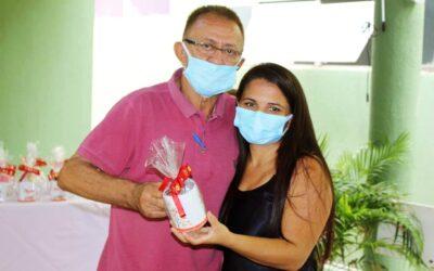 Hospital Regional Eustáquio Portela realiza confraternização. Fotos e video