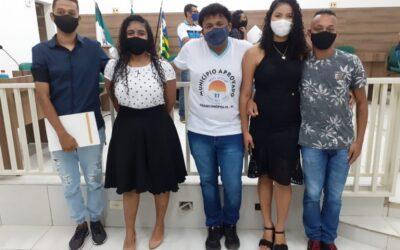 Jovens realizam ações contra o racismo e empossam conselho em Francinópolis