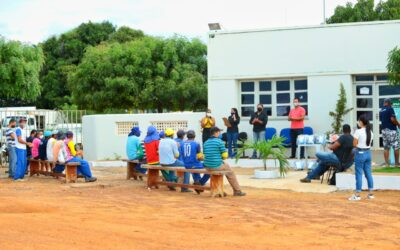 Prefeitura de Valença entrega Equipamento de Proteção Individual aos garis e eletricistas