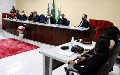 Sessão solene marca início do recesso na Câmara de Vereadores de Novo Oriente