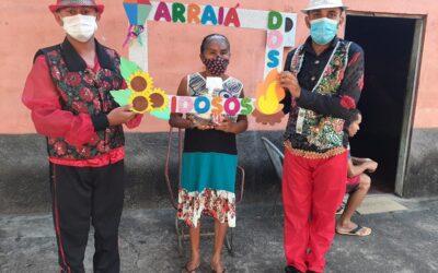 Assistência Social de Francinópolis realiza Arraiá Volante com famílias do SCFV e PCF