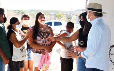 Com atraso de 20 anos, Prefeitura de Valença entrega estrada entre Oiticica e Angical
