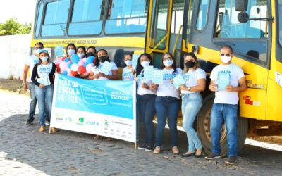 Programa Busca Ativa Escolar realiza panfletagem de conscientização em Valença