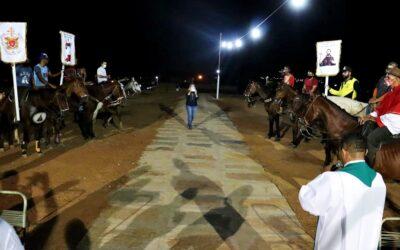 Cavalgada e celebração marcam penúltima noite do Festejo de São Raimundo Nonato