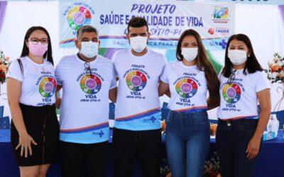 """Projeto """"Saúde e Qualidade de Vida"""" foi lançado em Lagoa do Sitio. Fotos e vídeos"""