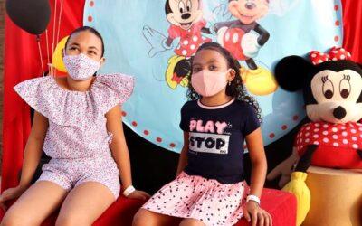 Assistência Social de Valença realiza festa para as crianças. Fotos e vídeo
