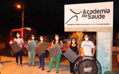 Secretária de Saúde de Valença do Piauí entrega equipamentos para as Academias da Saúde