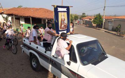 Prefeitura de Francinópolis realiza 3º Pedalada de São Francisco de Assis e enfatiza Outubro Rosa