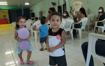 Secretaria de Assistência Social de Valença do Piauí realiza festa em comemoração pelo Dia das Crianças